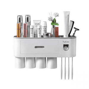 TuCao Wall-Mounted Automatic Toothpaste Dispenser