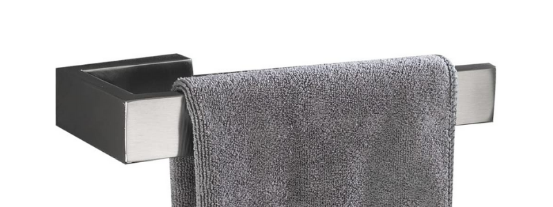 Flybath Stainless Steel Bathroom Hand Towel Holder Ring