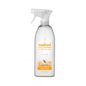 Method Bathroom Daily Shower Surface Cleaner Spray Passion Fruit