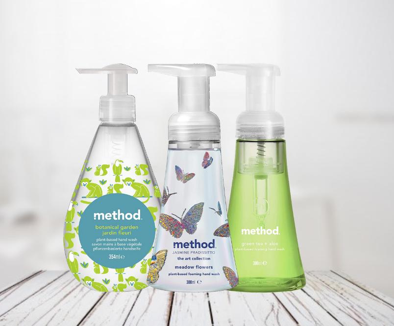 Three Method Hand Washes