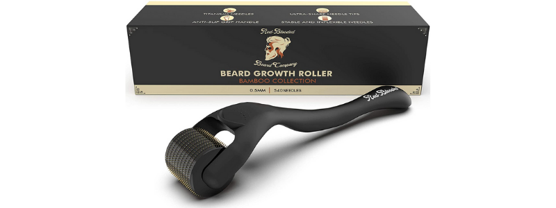 Red-Blooded Beard Company Derma Roller for Beard Growth