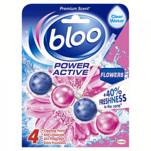 Bloo Power Active Toilet Rim Block Fresh Flowers scent