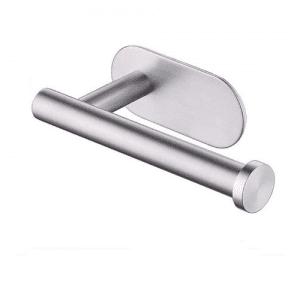 BIIYOOVE Self-adhesive Stainless Steel Toilet Paper Dispenser