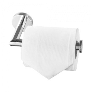 HITSLAM Chrome Stainless Steel Wall Mounted Toilet Paper Holder