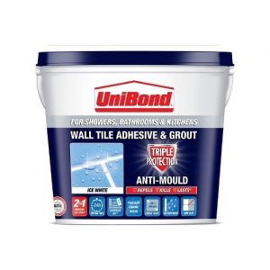 UniBond Triple Protect Wall Tile Adhesive and Grout