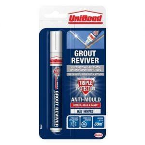 Unibond White Grout Reviver Pen