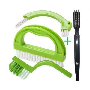 Enyoir Tile Grout Brush 4 in 1 Scrubber